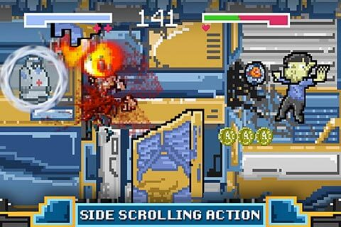 Robot Rundown - Side Scrolling Action