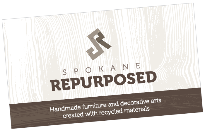 Spokane Repurposed Business Card