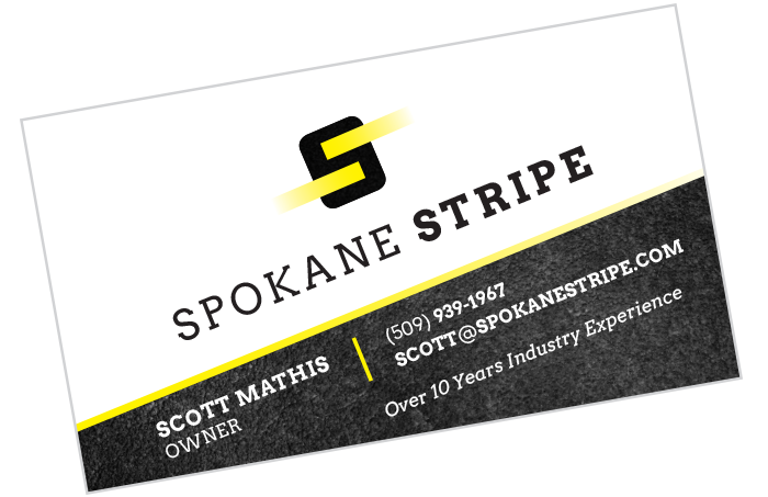 Spokane Stripe Card